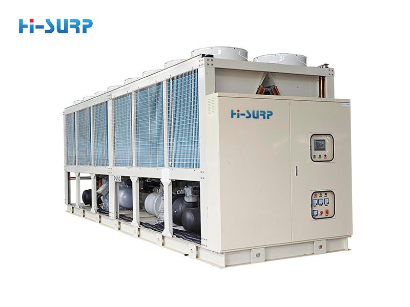 Máy làm lạnh trục vít làm mát bằng không khí (bơm nhiệt)